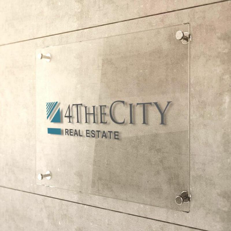 4TheCity-Firmenschild